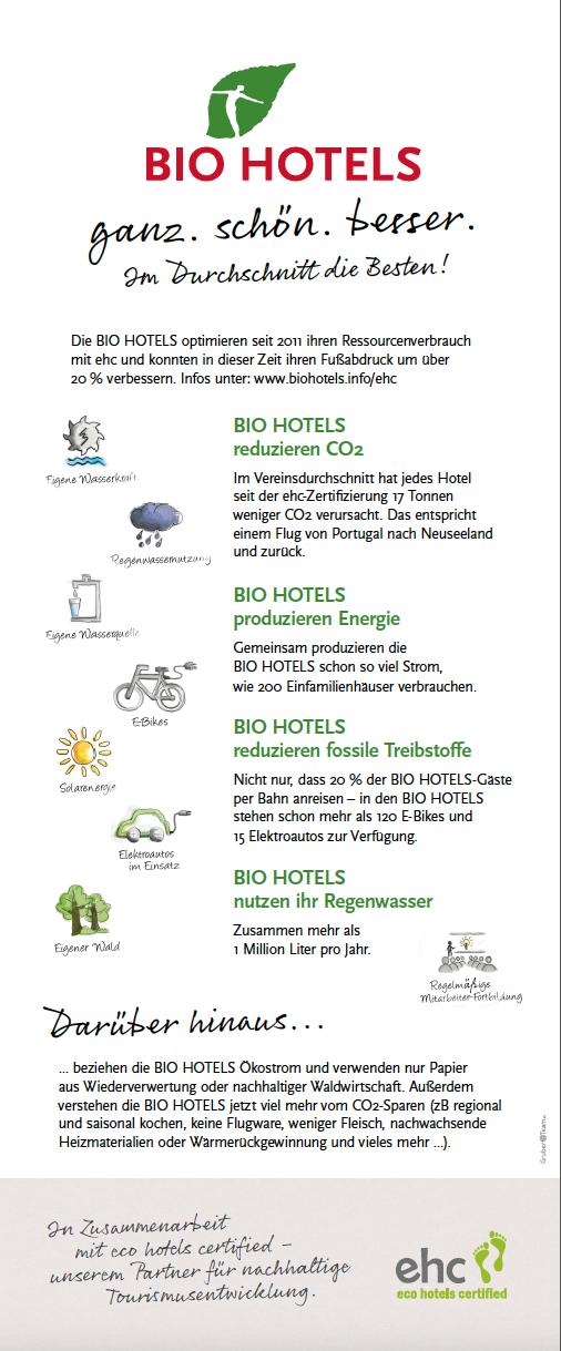 Die bio hotels optimieren ihren ressourcenverbrauch hann for Tagungshotel gottingen